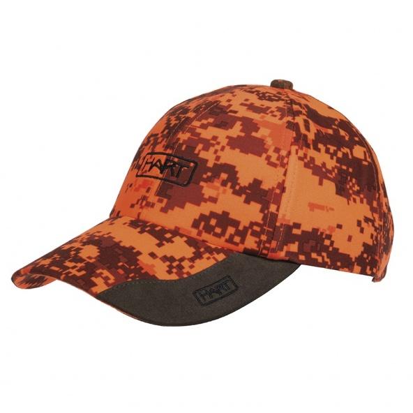 Compra gorra Hart de camuflaje pixel naranja o blaze
