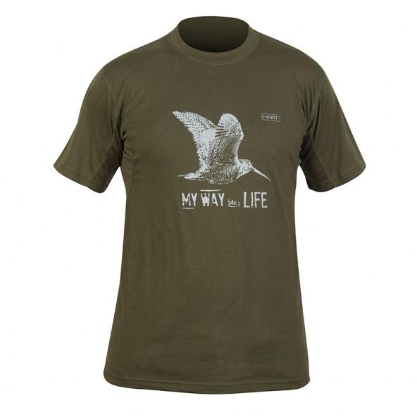 camiseta de caza Hart Branded color verde barata online