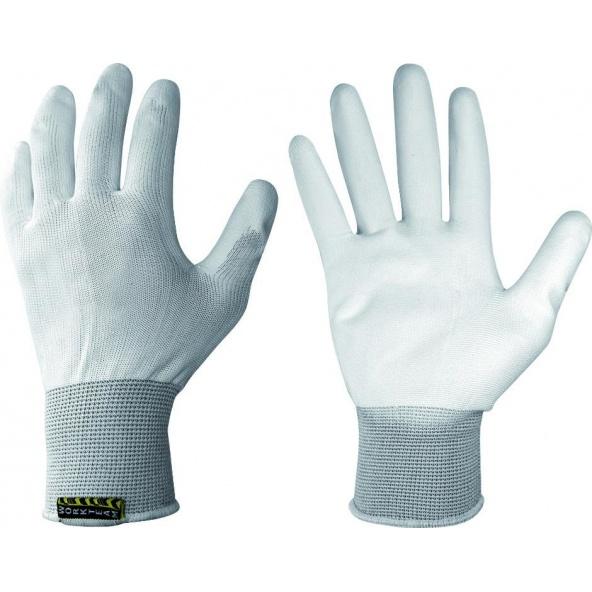 Comprar Guantes de poliuretano G4702 - Pack de 12 pares Blanco workteam barato