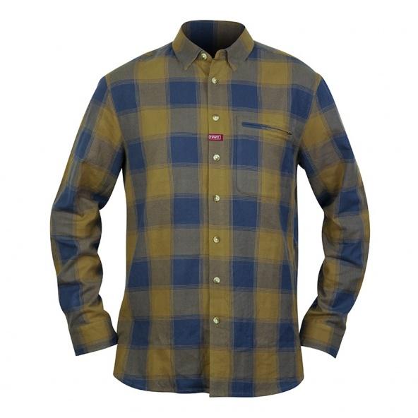 comprar camisa para cazar Hart Urbia con tejido de algodon de cuadros