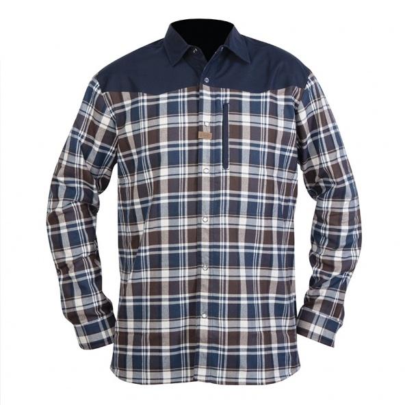 camisa Hart Oita con tejido franela de abrigo