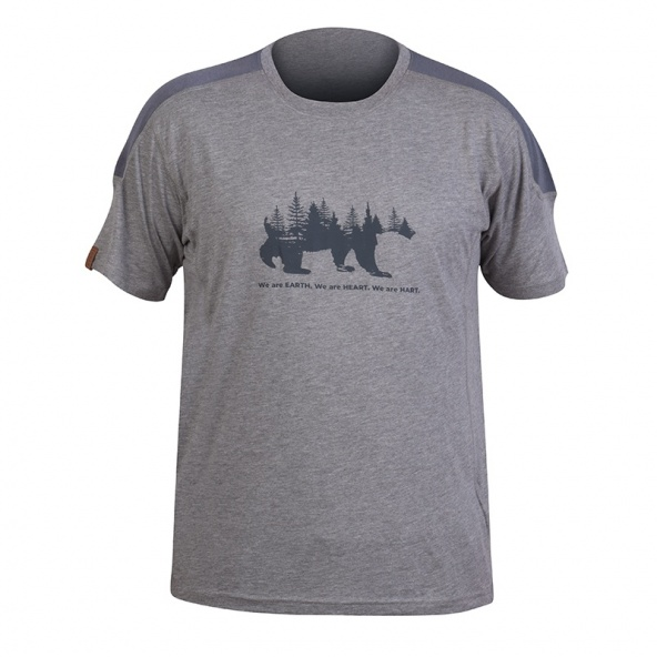 camiseta antibacterias Hart Bear - TS de algodon organico