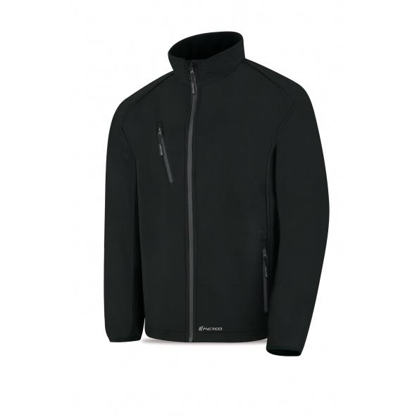 Comprar Cazadora Tipo Soft Shell Negra 288-Cs3n barato