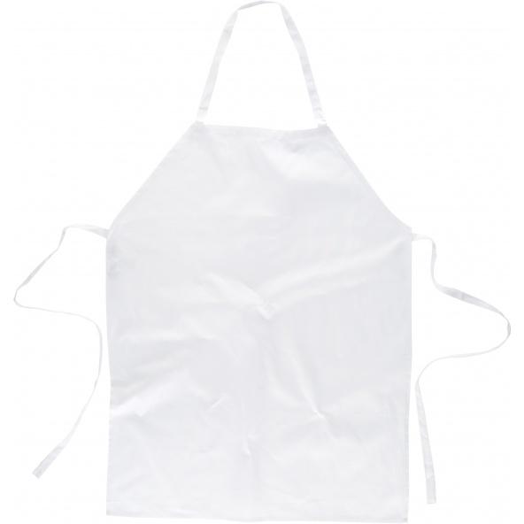 Comprar Delantal con peto en algodon M305 Blanco workteam barato