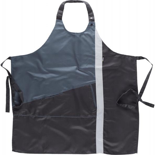 Comprar Delantal con peto y cinta reflectante M530 Negro+Gris workteam barato