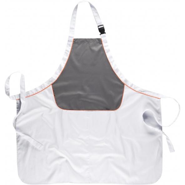 Comprar Delantal con peto combinado M540 Blanco+Gris+Naranja AV workteam barato