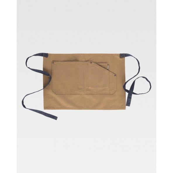 Comprar Delantal tejido canvas algodon M713 Beige workteam barato