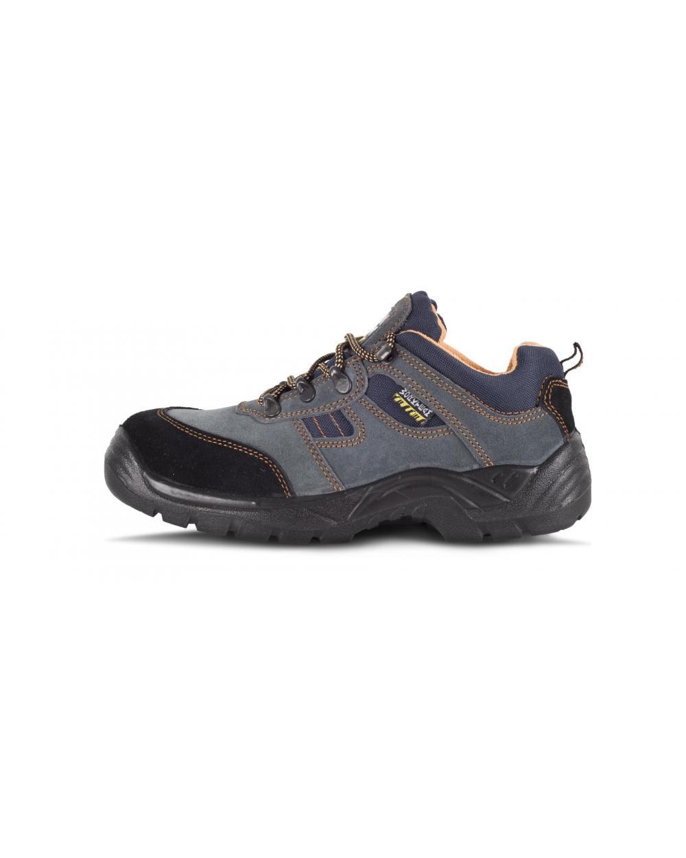 Comprar Zapatos de trabajo de serraje S1+P P1201 Gris workteam 1