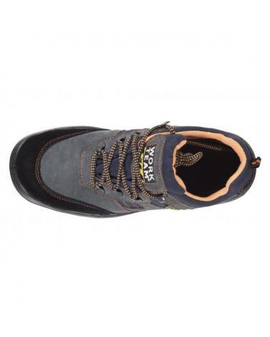 Zapatos de trabajo de serraje S1+P P1201 Gris workteam 2