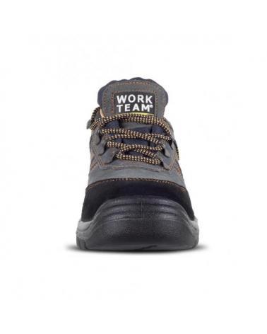 Zapatos de trabajo de serraje S1+P P1201 Gris workteam 3