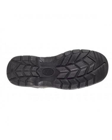 Zapatos de trabajo de serraje S1+P P1201 Gris workteam 5