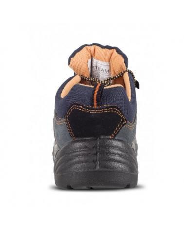 Zapatos de trabajo de serraje S1+P P1201 Gris workteam 6