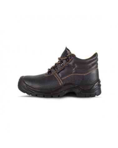 Comprar Botas de trabajo en piel hidrofuga S1+P P1301 Negro workteam 1