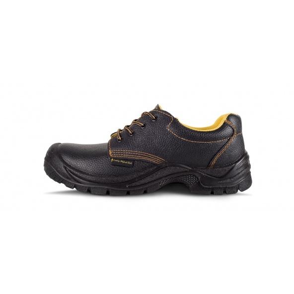Comprar Zapatos de trabajo en piel hidrofuga S1+P P1401 Negro workteam 1