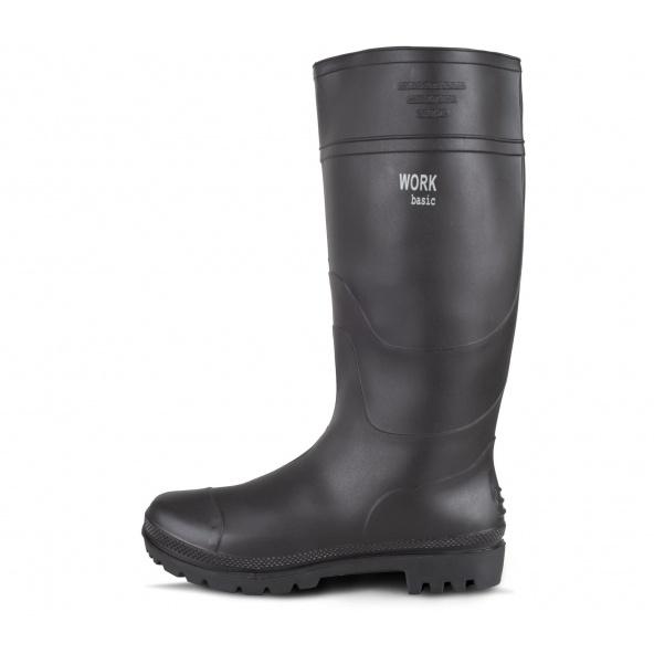 Comprar Botas de trabajo de goma sin proteccion P2301 Negro workteam 1