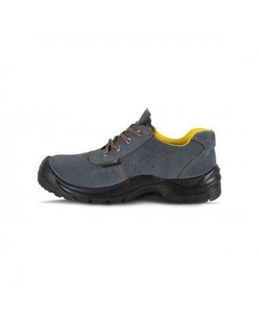 Comprar Zapatos de trabajo de serraje perforado P2501 Gris workteam 1