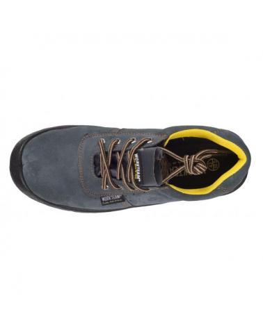 Zapatos de trabajo de serraje perforado P2501 Gris workteam 2
