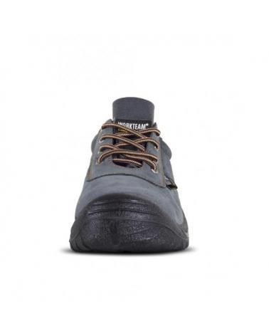 Zapatos de trabajo de serraje perforado P2501 Gris workteam 3
