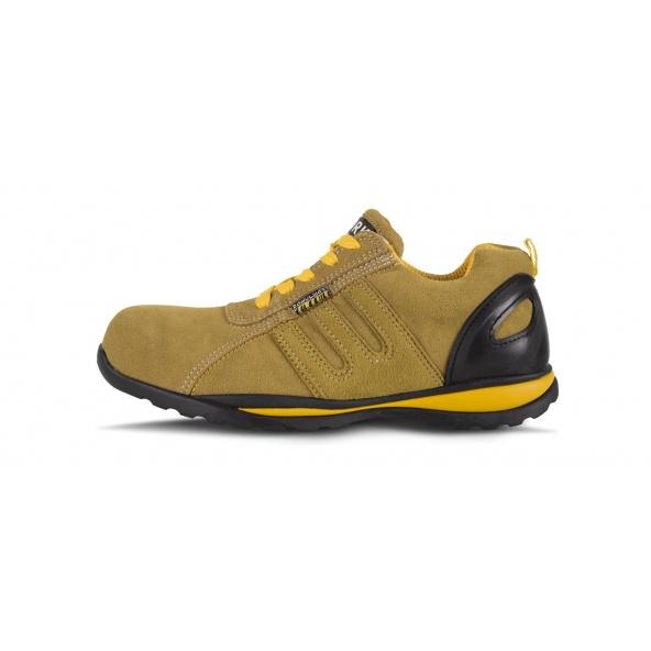 Comprar Zapatos de trabajo de serraje S1+P P3005 Amarillo workteam 1