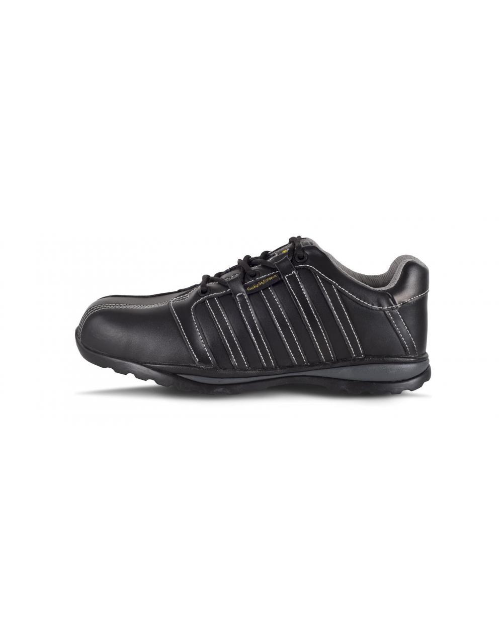 Comprar Zapatos de trabajo de piel S1+P P3006 Negro workteam 1