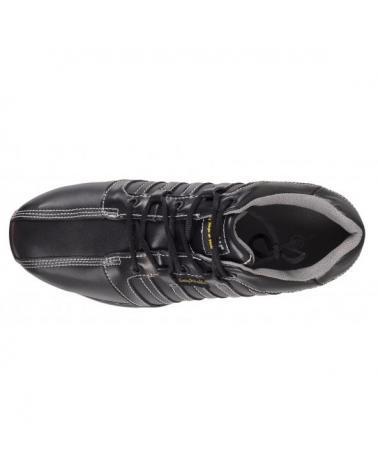 Zapatos de trabajo de piel S1+P P3006 Negro workteam 2
