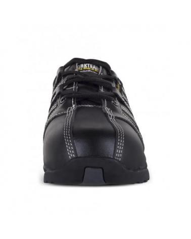 Zapatos de trabajo de piel S1+P P3006 Negro workteam 3