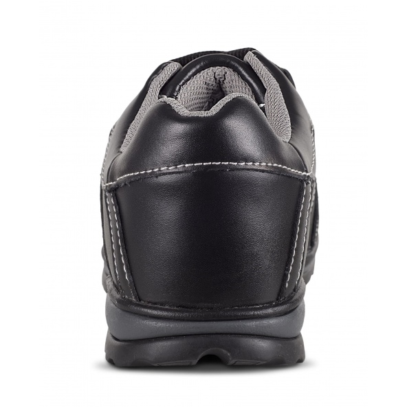Zapatos de trabajo de piel S1+P P3006 Negro workteam 6 barato