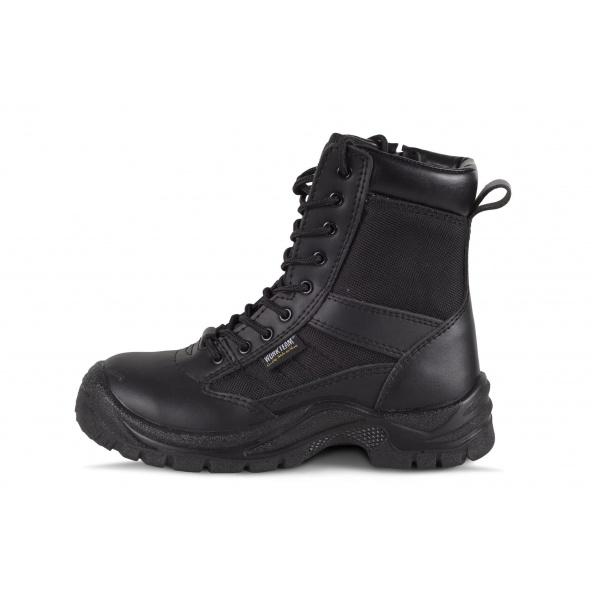 Comprar Botas de montaña de piel color negro P3007 Negro workteam 1
