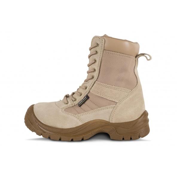 Comprar Botas de montaña de piel color beige P3008 Beige workteam 1