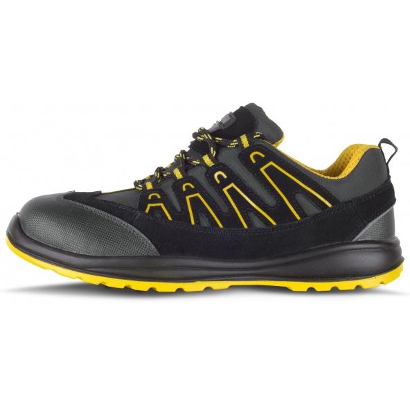 Comprar Zapatos de trabajo libre de metal S1+P P3012 Gris+Amarillo workteam 1