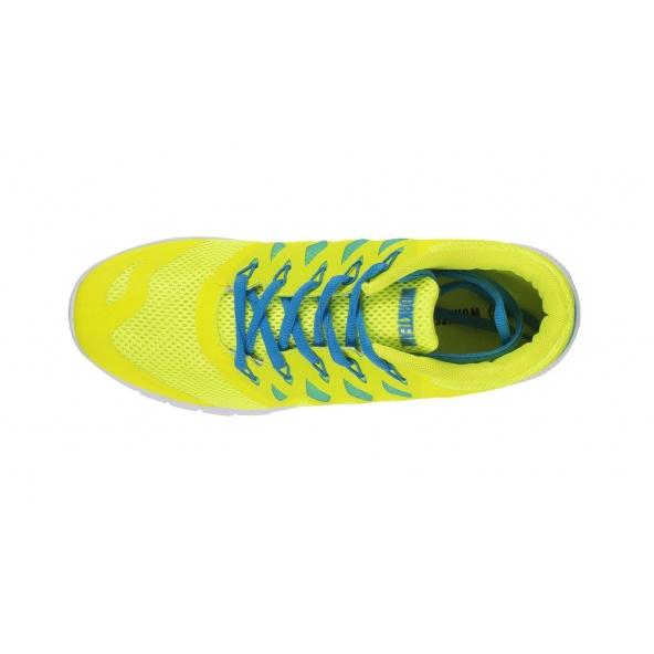 Zapatillas deportivas de rejilla P4001 Amarillo AV workteam 2