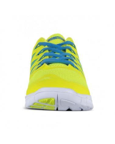 Zapatillas deportivas de rejilla P4001 Amarillo AV workteam 3