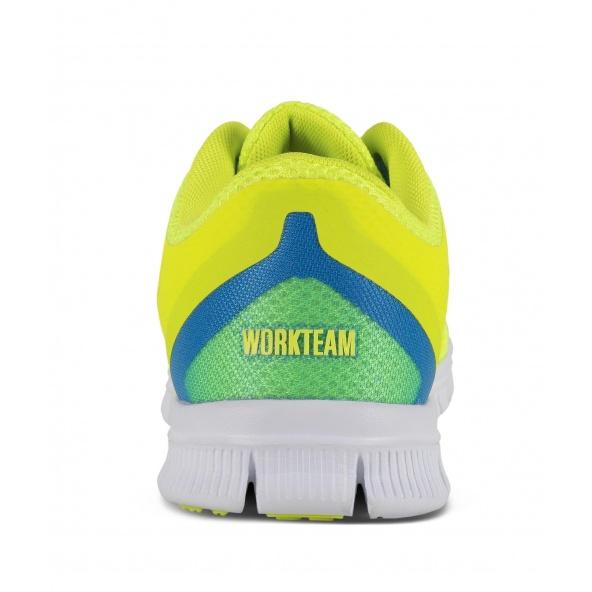 Zapatillas deportivas de rejilla P4001 Amarillo AV workteam 6 barato
