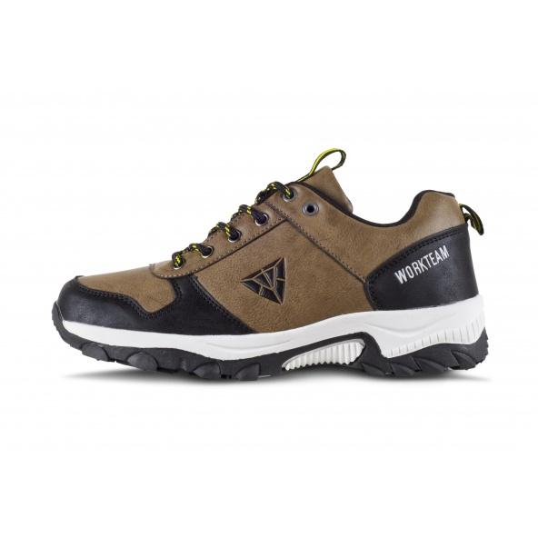 Comprar Zapatillas para trecking P4010 Beige+Negro workteam 1