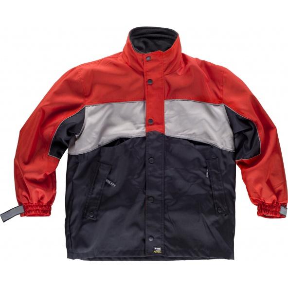 Comprar Parka + forro polar 2 en 1 S1140 Rojo+Gris+Negro workteam 1