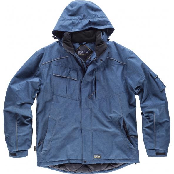 Comprar Parka impermeable con capucha S1150 Azafata workteam delante