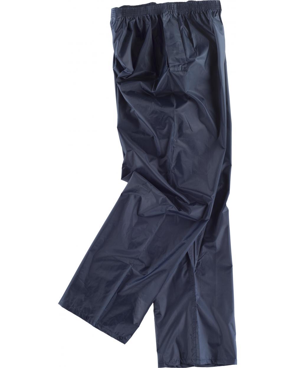 Comprar Pantalon chubasquero impermeable S2014 Marino workteam barato