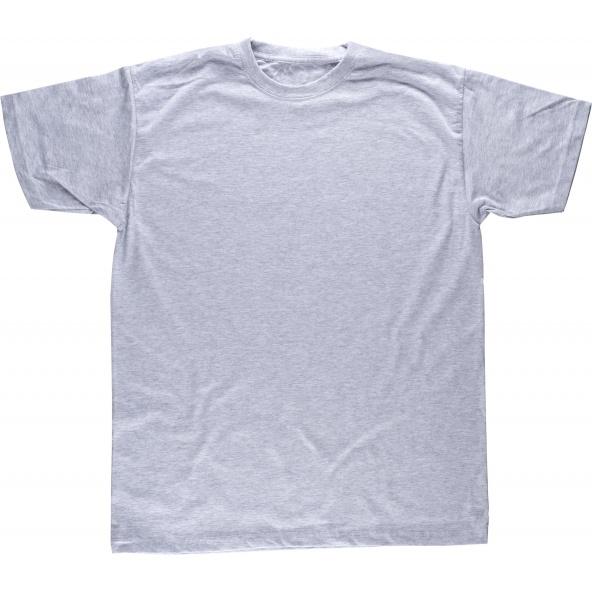 Comprar Camiseta sport de algodon S6600 Gris workteam delante