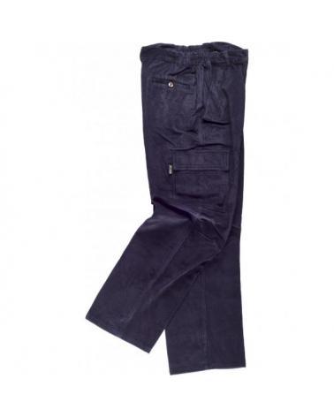 Comprar Pantalon de pana S7014 Marino workteam barato