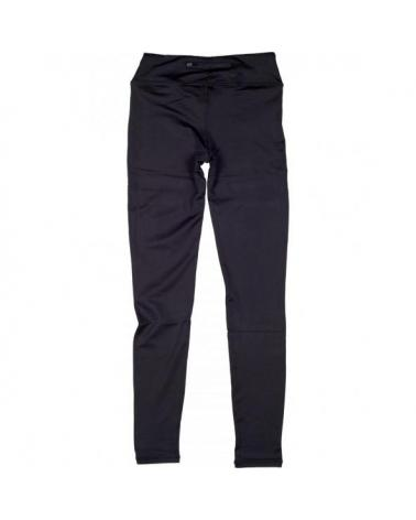 Leggin ajustados elasticos S7501 Negro+Rosa Fluor workteam atrás barato