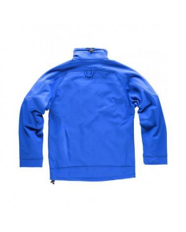 Workshell con membrana cortavientos S9010 Azul workteam atrás barato