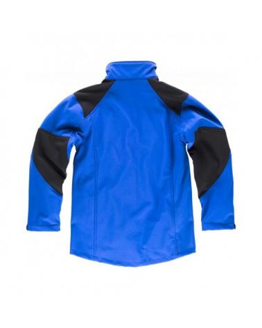Workshell con membrana cortavientos S9020 Azul workteam atrás barato
