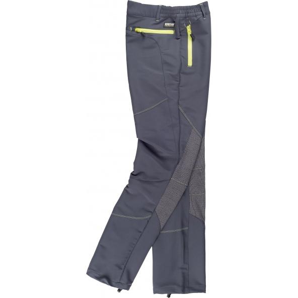 Comprar Pantalon de montaña con tejido ripstop S9855 Gris Oscuro+Negro workteam barato