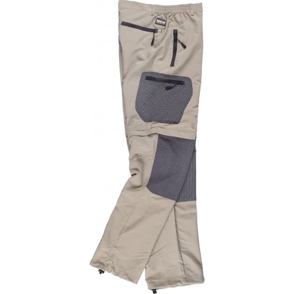 Comprar Pantalon de nylon desmontable S9870 Beige+Negro workteam barato