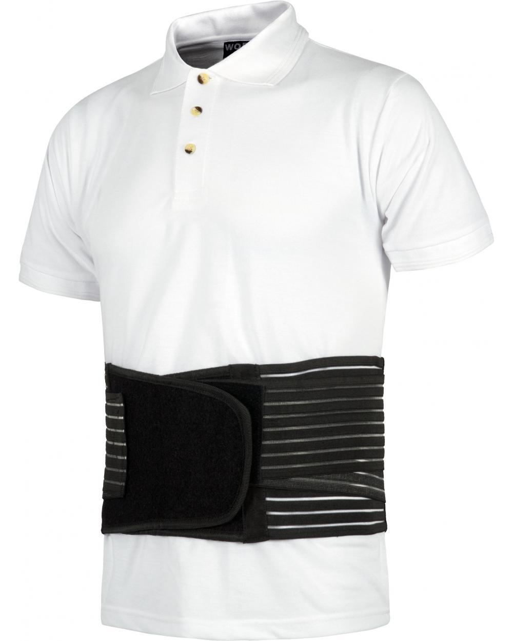 Comprar Faja lumbar elastica WFA301 Negro workteam barato