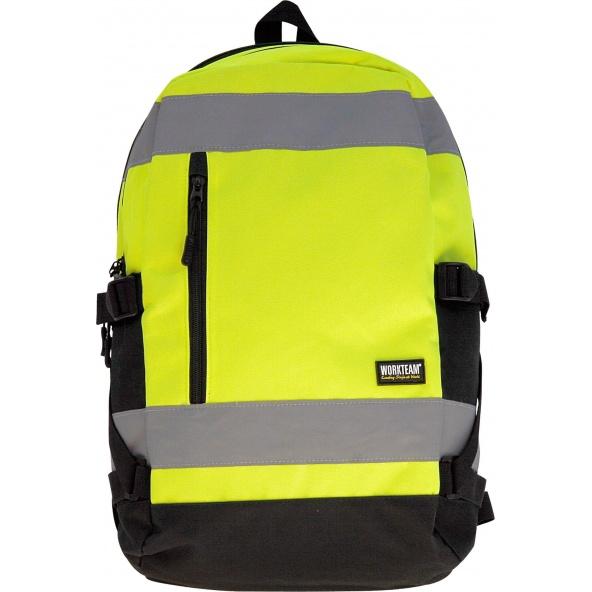 Comprar Mochila de alta visibilidad 25L WFA401 Amarillo AV workteam barato