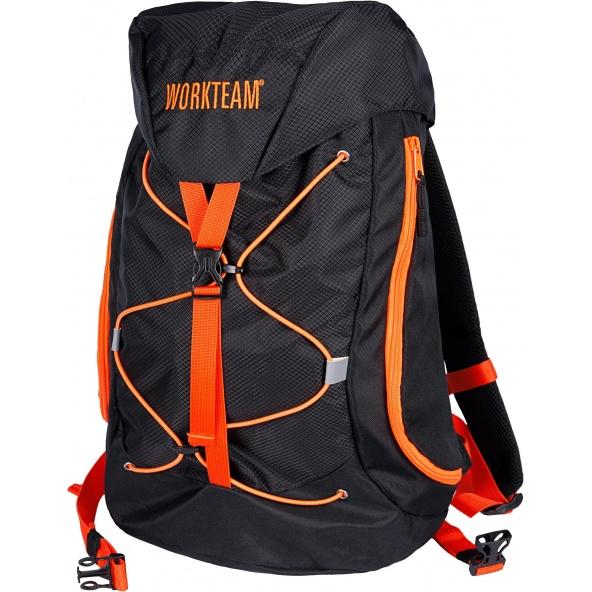 Comprar Mochila Alta Visibilidad 32L WFA402 Negro+Naranja AV workteam barato
