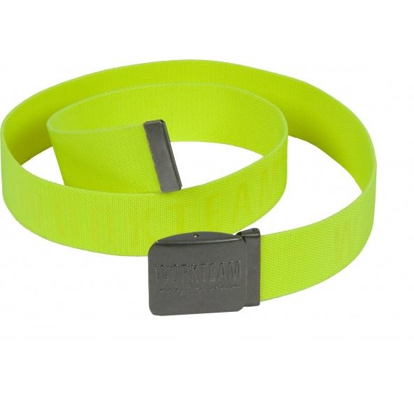 Comprar Cinturon elastico con hebilla automatica WFA501 Amarillo AV workteam barato