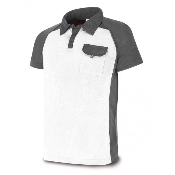 Comprar Polo Técnica Blanco Gris 1288-Polbg barato