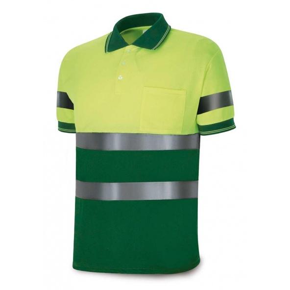 Comprar Polo Alta Visibilidad Amarillo Fluo Verde 1288-Polfy/V barato